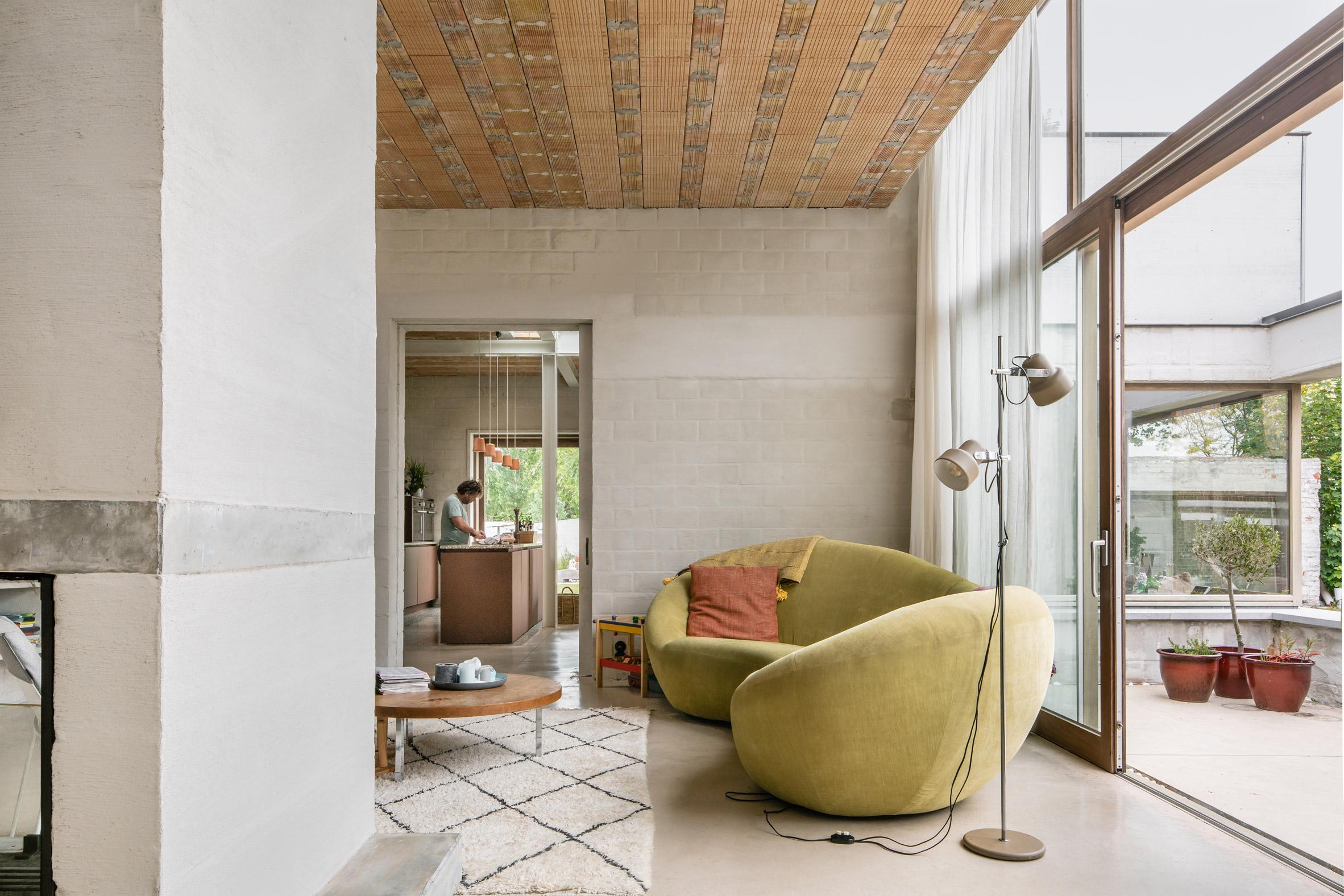 A living room inside House C-VL
