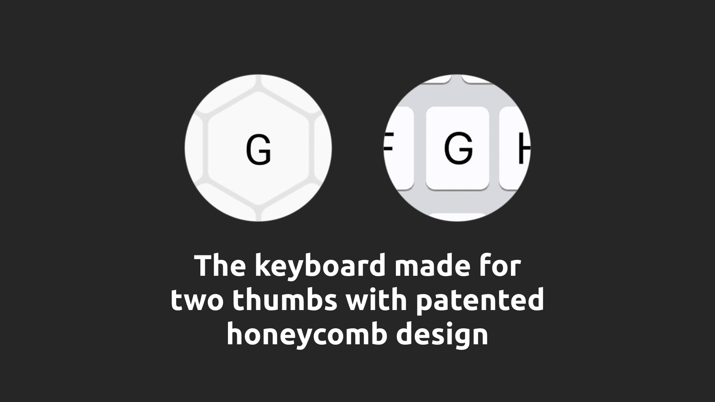 Typewise keys