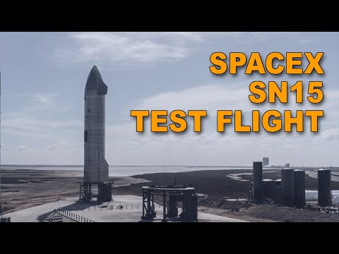 SpaceX SN15 Starship Test Flight