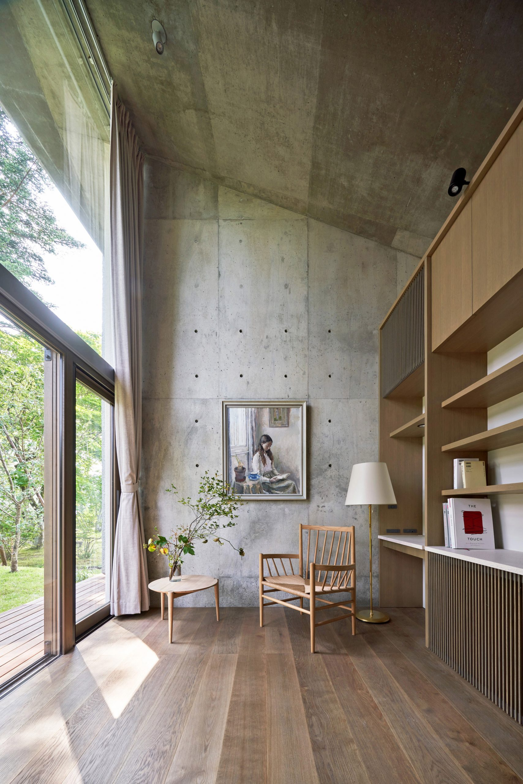 Bedroom of Symbiotic House for Life After Retirement by READ & Architects