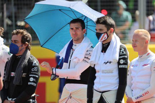 Nicholas Latifi (CDN) Williams Racing FW43B. 18.07.2021. Formula 1 World Championship, Rd 10, British Grand Prix, Silverstone, England, Race Day. - www.xpbimages.com, EMail: requests@xpbimages.com © Copyright: Batchelor / XPB Images