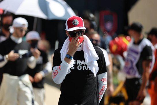 Antonio Giovinazzi (ITA) Alfa Romeo Racing C41. 18.07.2021. Formula 1 World Championship, Rd 10, British Grand Prix, Silverstone, England, Race Day. - www.xpbimages.com, EMail: requests@xpbimages.com © Copyright: Batchelor / XPB Images