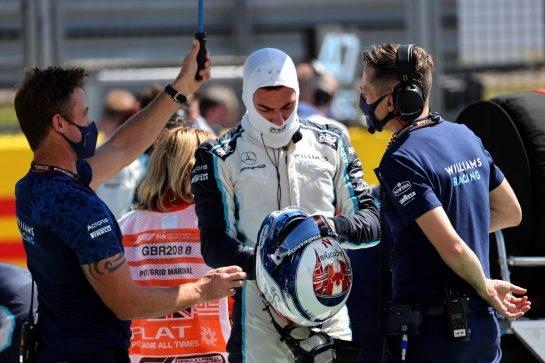 Nicholas Latifi (CDN) Williams Racing. 18.07.2021. Formula 1 World Championship, Rd 10, British Grand Prix, Silverstone, England, Race Day. - www.xpbimages.com, EMail: requests@xpbimages.com © Copyright: Batchelor / XPB Images
