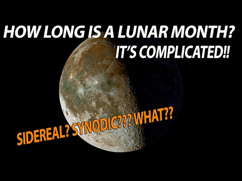 Learn About The Moon - How long is a lunar month? Is there a dark side of the moon?