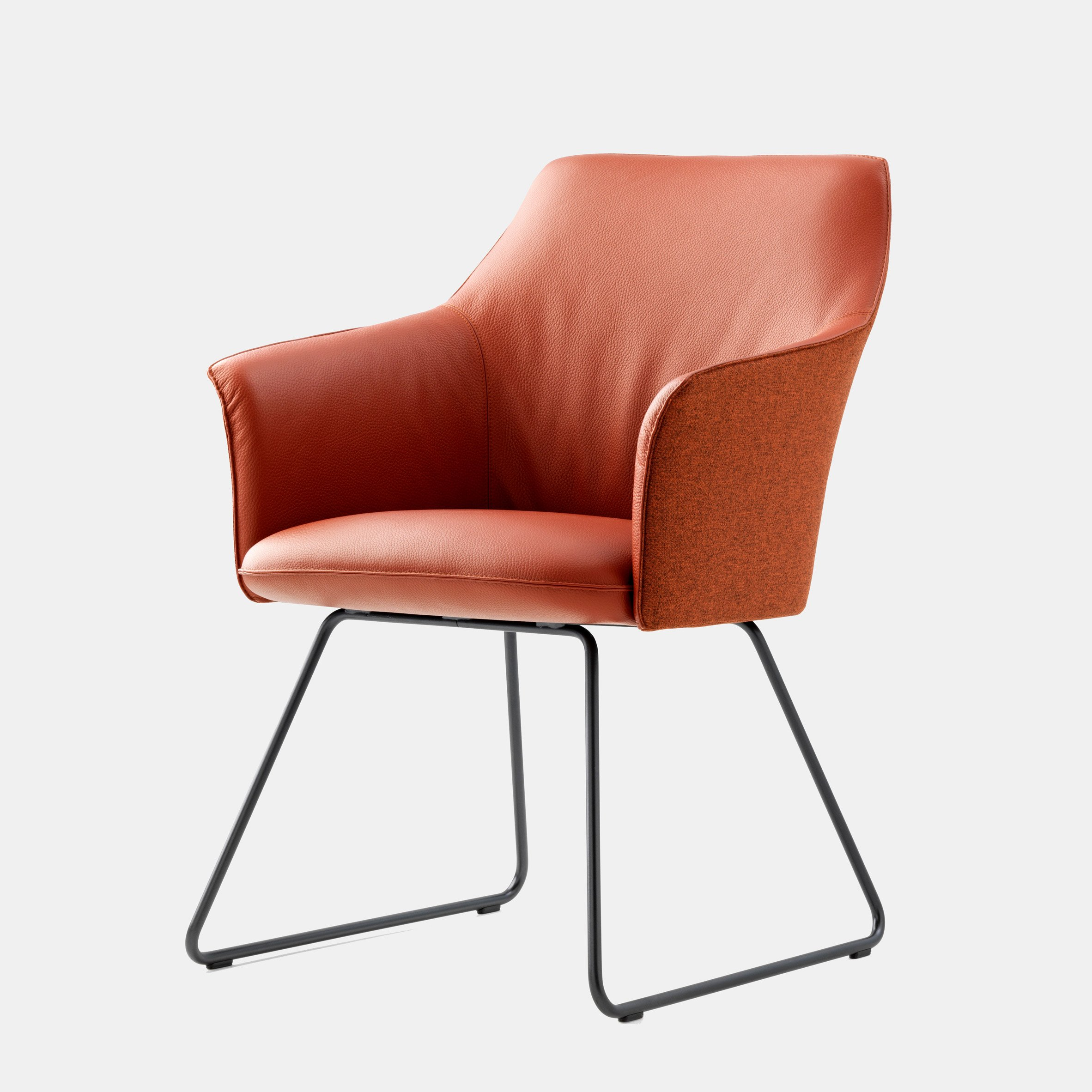 LX671 chair by Christian Werner for Leolux LX